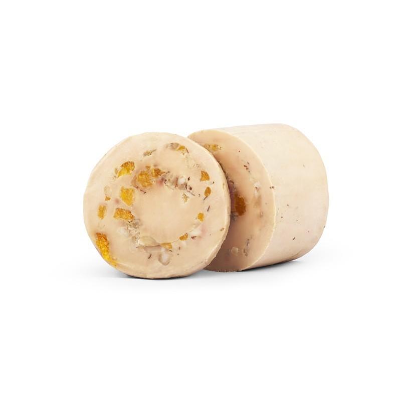 Etuvée de lentilles du Puy au jambonneau et saucisses confites